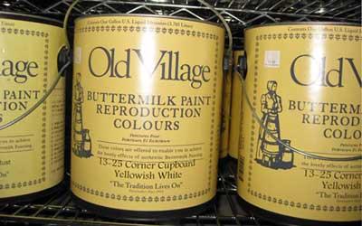オールドビレッジ バターミルクペイント 3785ml(約25平米/2回塗り) ポイント5倍