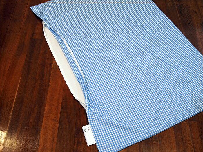 お昼寝布団用 敷き布団カバー 「ギンガムチェッ...の紹介画像3