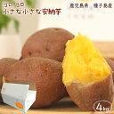 小さな安納芋4kg 送料無料 訳あり ご家庭用 さつまいも 5kg箱(内容量約4kg)鹿児島県