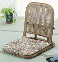 ラタン 籐 座椅子(クッション付き) S9B【送料無料】【大川家具】【smtb-MS】【RCP】【TPO】【KOU】