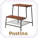 Postino ステップチェア ポスティーノ 踏み台 チェア 椅子 花台 ステップチェア 飾り棚 簡易チェア 木製.アンティーク Q7524【送料無料】【大川家具】【161213】【smtb-MS】【HNS】