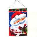 クリスマスサンタクロースタペストリー【クリスマス装飾/クリス
