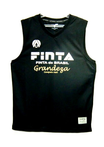 フィンタFINTAJAPANノースリーブシャツ(プラシャツ)18SSサッカー・フットサルシャツFT6