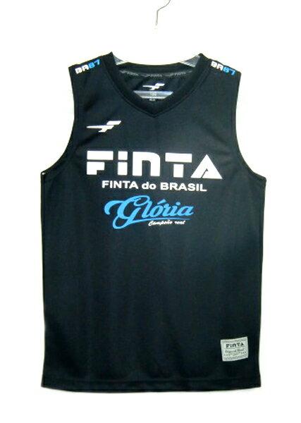 フィンタFINTAJAPANジュニアノースリーブシャツ(プラシャツ)18SSサッカー・フットサルシャ