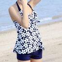 ショッピング体型カバー 水着 体型カバー ワンピース水着 レディース スイムウエア 新作 女性 タンキニ