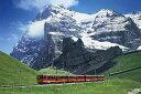 1500スモールピース パズルの達人 鉄道の旅 アイガーを望む登山鉄道 50x75cm 14-103