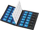 DVDトールケース型メモリーカード管理ケース SDカード・microSDカード用 各36枚収納可能 FC-MMC25SDM