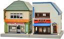 ジオコレ 建物コレクション 108-2 ジオラマ用品(駅前商店C2)