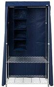 ルミナス メタルラック ワードローブ用カバー 幅92×奥行46×高さ173cm[LWK-NV](ネイビー)