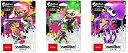 スプラトゥーンシリーズ amiibo3種セット ガールネオンピンク ボーイネオングリーン イカネオンパープル(Nintendo Switch)