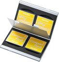 アルミメモリーカードケース CFカード用・両面収納タイプ FC-MMC5CFN2(CF用)