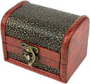 ショッピングメイクボックス ジュエリーボックス コスメ メイクボックス 小物入れ 化粧品 木製 アンティーク調 ケース 宝石箱 収納箱 アクセサリー インテリア ビンテージ J102 MDM(Eタイプ)