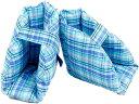 床ずれ防止クッション 踵 手 足 サポート 介護(かかと用2個チェック柄)