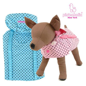 Pinkaholic NewYork (NY ピンカホリック) POLKA DOT (polka dot) (dog coats)
