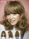 Wiina(ウィーナ) ファッションウイッグミドルカール 大人 かわいい つけ毛