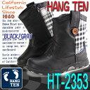 HANG TEN ハンテン ブーツ キッズ靴 キッズブーツ ジュニアブーツ 【HT-2353】02P03Sep16