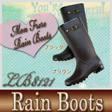 【送料無料】レディースレイン レインブーツ 軽量 オシャレ 雨 雪 長靴 【LB8121】02P03Sep16
