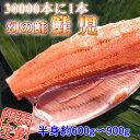 【送料無料】最高の贅沢♪30000本に1本 鮭児(けいじ)半身750g〜900g前後)