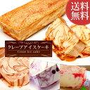 お祝い 誕生日プレゼント 送料無料の選べるクレープアイスケーキスイーツお菓子セットAB