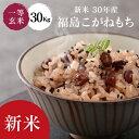 米 もち米 30Kg 送料無料 【福島県...