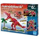 nanoblock+ ナノブロックプラス【PBH-007 ティラノサウルス・レックス】カワダ