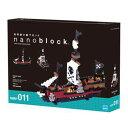 nano block ナノブロック【NBM-011 海賊船】カワダ