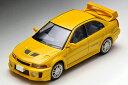 迷你車 - 1/64トミカリミテッドヴィンテージ【LV-N187a ランサーGSRエボリューションV(黄)】トミーテック