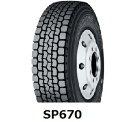 【2017年製造】225/80R17.5 123/122L DECTES SP670 ミックス ダンロップ 225/80-17.5 SP 670 《新品》