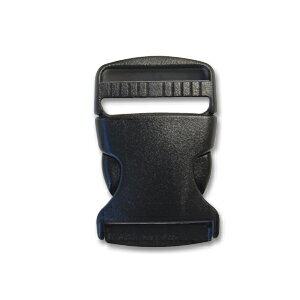 Nifco-ニフコ- プラスチックパーツ 差し込みバックル(TSR38) 38mm幅テープ用 1個入り (b)4a