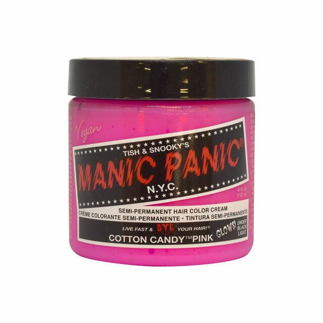 ヘアカラー MANIC PANIC-マニックパニック- コットンキャンディーピンク (B)_3aj