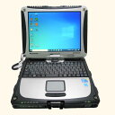 パナソニック Panasonic TOUGHBOOK CF-19RW1ADS Core i5 4GB 新品SSD480GB 無線LAN Windows10 64bitWPSOffice 10.4インチ XGA タッチパネル タッチペンなし 中古 中古パソコン 【中古】 ノートパソコン