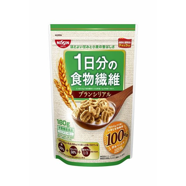 日清シスコ 1日分の食物繊維ブランシリアル 180g×6袋