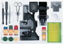 【送料無料】好奇心を駆り立てる!自由研究に便利な機能を満載した顕微鏡セット顕微鏡 ミクロシ...
