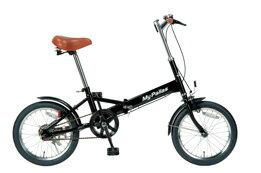 マイパラス 折畳自転車 16型 M-101