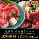 総内容量1.1kg4、5人前近江牛 すき焼きセット御祝・御礼【あす楽対応商品】