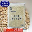 新麦 キラリもち麦 (950g×5袋) お買い得パック 令和...