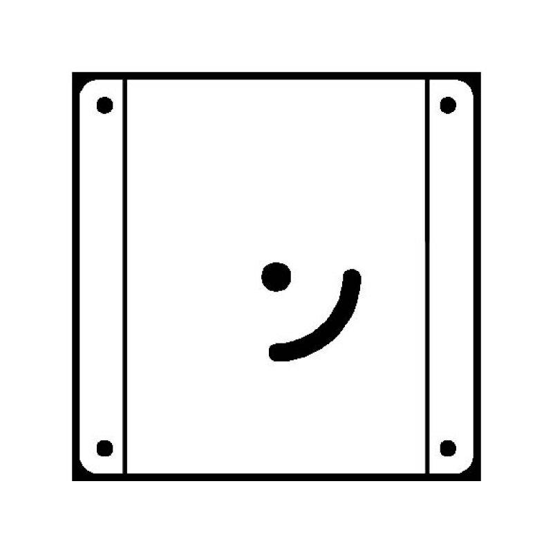G-FREE(ジーフリー) 交換用取付インターフェイス金具 VESA規格100mm 【送料込み】