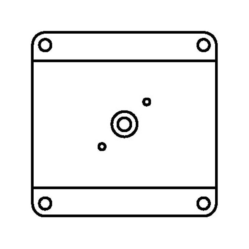 G-FREE Slim(ジーフリースリム) 交換用取付インターフェイス金具 VESA規格100mm 【送料込み】