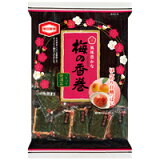 亀田製菓 梅の香巻12袋入り