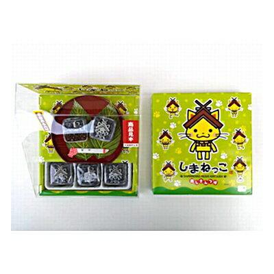 森田製菓 しまねっこ 蒸しきんつば 9個 24コ入り...:okashinomarch:10002493