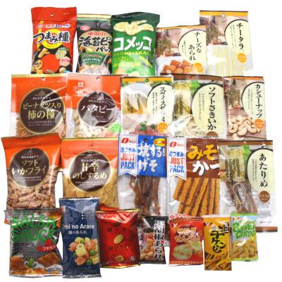 おかしのマーチおつまみ・珍味詰め合わせセットA(22種類入り)駄菓子詰め合わせ子ども会子供会景品販促