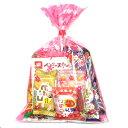 お菓子詰め合わせ 250円 花柄袋