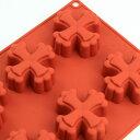 シリコンフレックス 十字架(クロス)8ヶ付 SF-070  シリコン型クリスマス ケーキ型