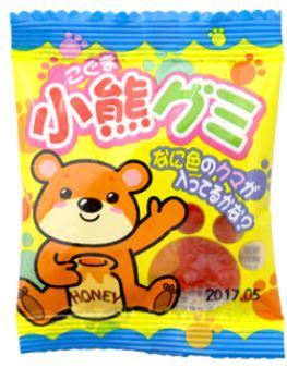 やおきん 小熊 グミ 60袋入 駄菓子グミ