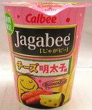 【心ばかりですが…おまけつきます☆】カルビーJagabeeチーズ明太子38g12箱入