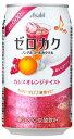 ゼロカク カシスオレンジ 350ml×24本(1ケース)【アサヒビール】【02P03Dec16】の画像