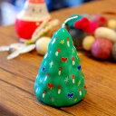 ショッピング北欧 ピチオキャンドル クリスマスツリー 絵付けキャンドル 【pichio candle】(手作り/ライト/かわいい/キャラクター/置物/ろうそく/オブジェ)日本製 ハンドメイド 北欧/雑貨/贈り物/ギフト/おしゃれ/かわいい/プチプラ/プチギフト クリスマスプレゼント/入学祝い/卒業祝い/誕生
