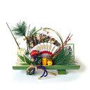 【10月末まで5%OFF】正月飾り 置飾り (竹) 宝船 ア...