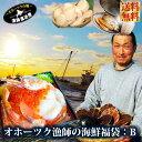 送料無料 北海道 海の幸『オホーツク漁師の海鮮福袋:Bセット...