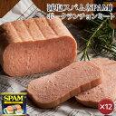 [sale]【送料無料】減塩スパム(SPAM)・ポークランチョンミート 12缶セット|沖縄土産|保存